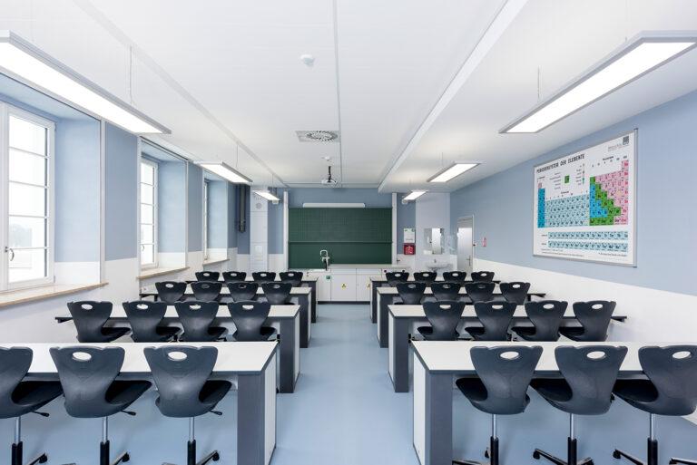 Belechtung Regiolux Jean-Paul-Schule